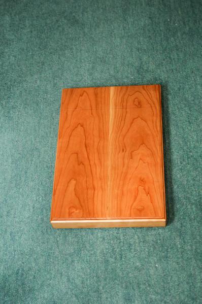 Book presentation box in cherry
