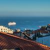 Costa Magica leaving Funchal