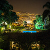 Night view over Funchal