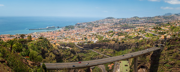 PANORAMA OF FUNCHAL