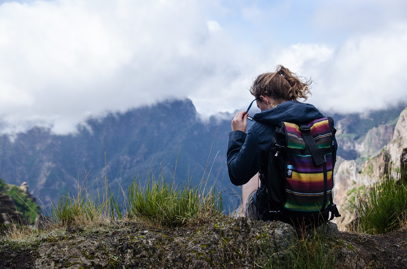By the summit of Pico de Arieiro