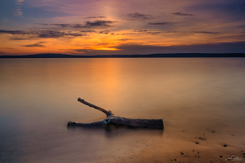 Sunset at Grants Point, Madeline Island, Wisconsin