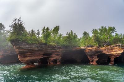 Sea Caves, Devil's Island, Apostle Islands, Wisconsin