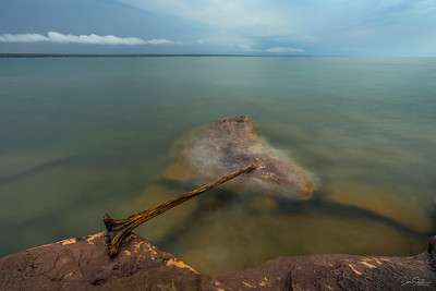 Early Morning at Big Bay State Park, Lake Superior, Madeline Island, WIsconsin