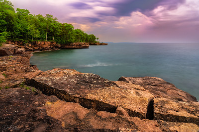 Lake Superior From Madeline Island, Wisconsin