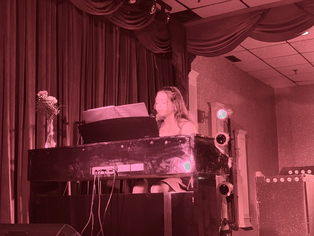 . Inspirational singer/songwriter/pianist Madeline Lavoie of Lowell