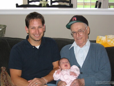 Meeting Great Grandpa Tom
