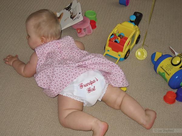 This means Grandpa has diaper duty.