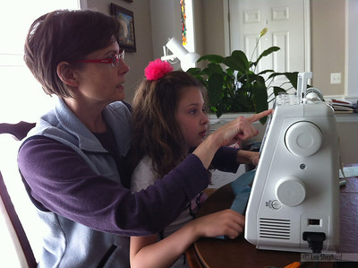Sewing with Nana