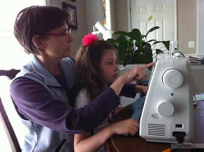 Sewing with Nana