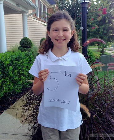 First day of Fifth grade!
