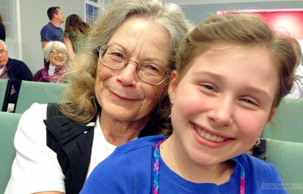 Madeline and Grandma Maggie
