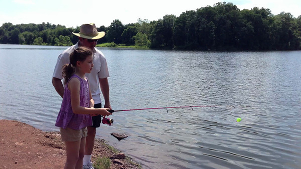 She's fishing!!
