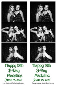 Madeline's 18th Birthday