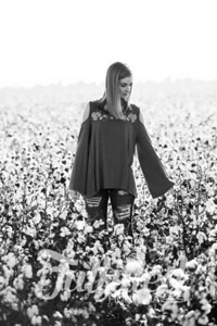 Madelyn Johnson Cotton Field Session (4)