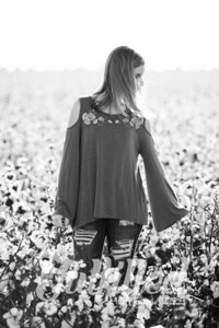 Madelyn Johnson Cotton Field Session (1)