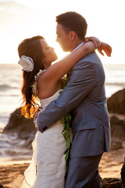 Charles & Gretchen's Maui Beach Wedding