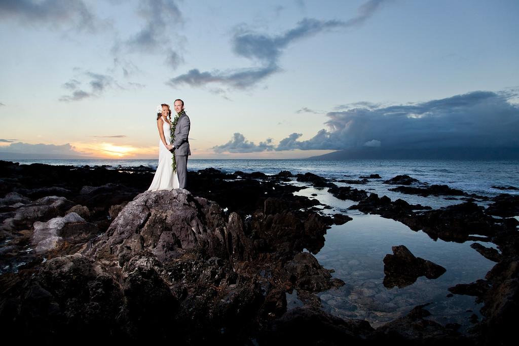 Davy & Chris's Maui Wedding