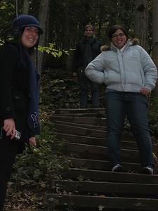 On the climb up the escarpment