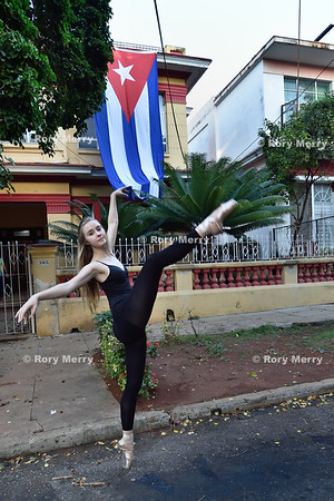 Ballet in old Havana