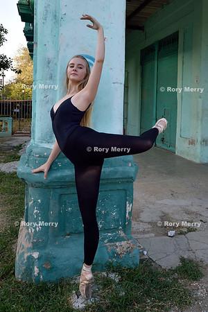 Ballet in old Havana