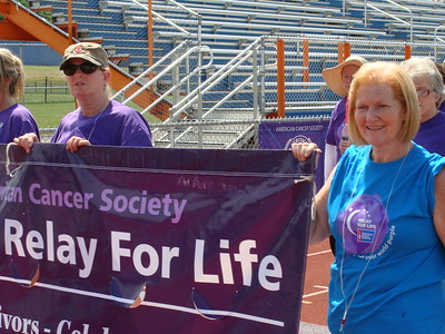 John Brewer - Oneida Daily Dispatch Cancer survivors, caregivers, family and friends celebrated successes and remembered those lost at the 2016 Madison County Relay For Life.