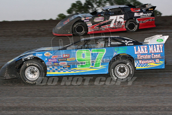 Late Models A and B Mains, and Dash