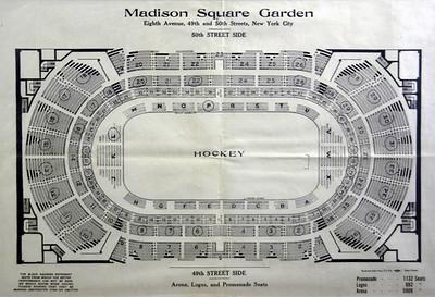 Madison Square Garden lll demolished New York City Bob Busser – Madison Square Garden Plan