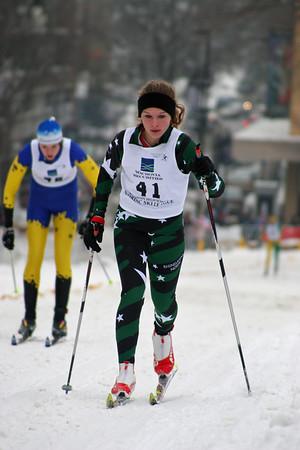 Winter Fest Sunday High School Races