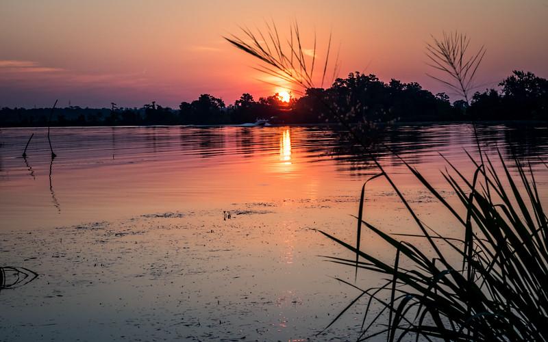 Sunrise on the river