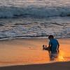 Gabriella -Sunset at the beach