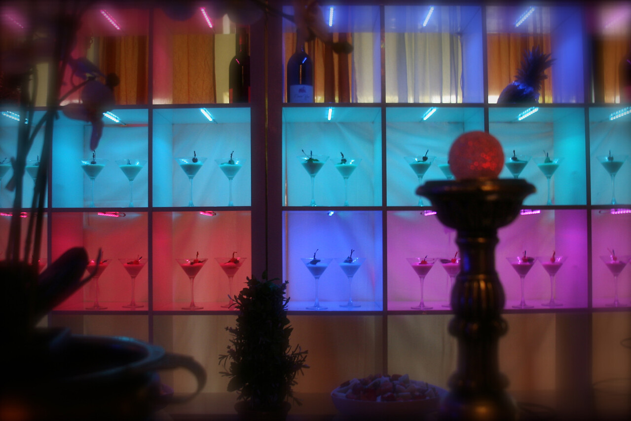 The new Dessert Bar ...