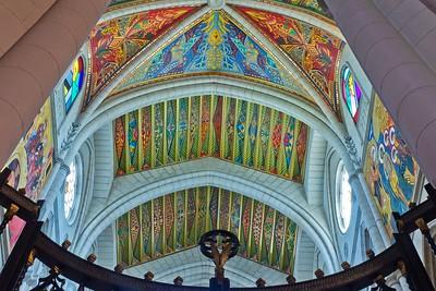 Ceilling - Cathédrale de la Almudena