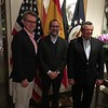 Geoffry R. Pyatt, U.S. Ambassador to the Ukraine; James Costos, U. S. Ambassdor to Spain and Andorro