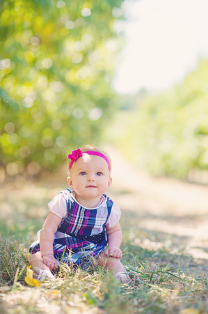 Maebree 6 months and family photos