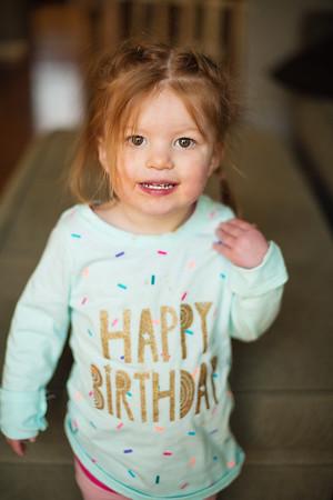 Maebree's 2nd birthday