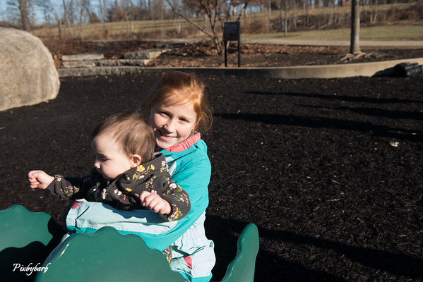 Maeve and Hazel 2019 Park