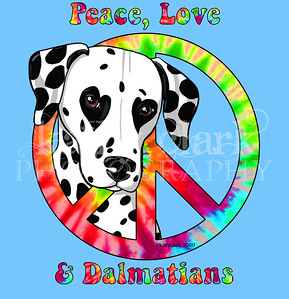 peace love & dalmatians