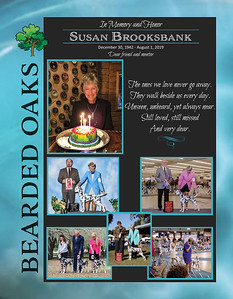Susan Brooksbank Memorial Spotter Ad
