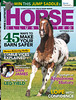 Horse Illustrated Cover 2013 - Appaloosa Stallion