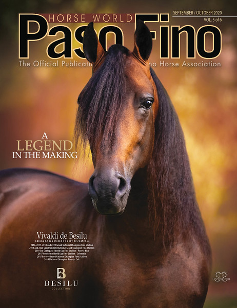 Paso Fino Horse World Magazine 2020 - Vivaldi de Besilu