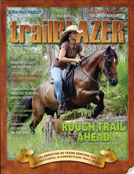 TrailBlazer Cover March 2011