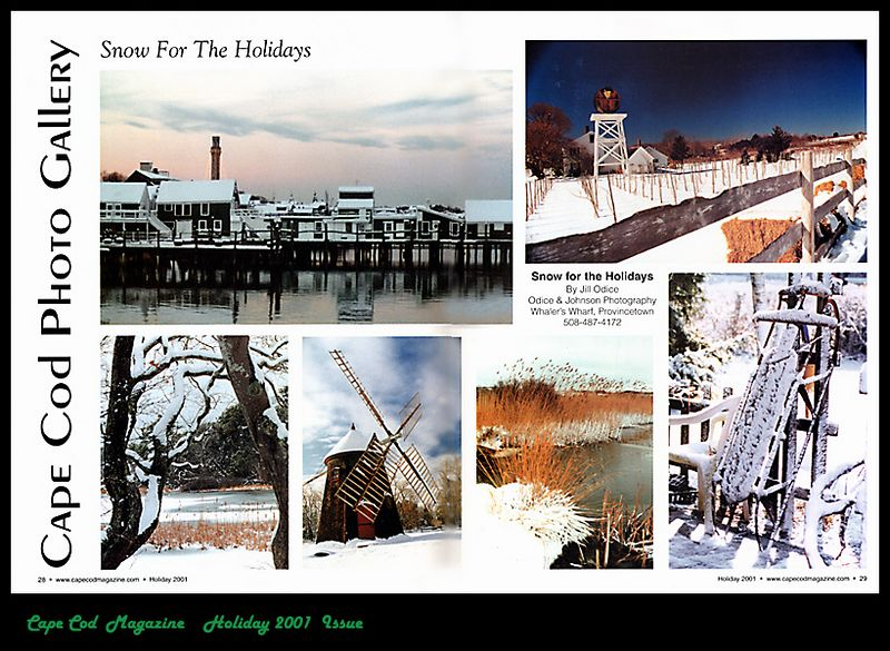 Cape Cod Magazine <br /> Holiday Issue 2001