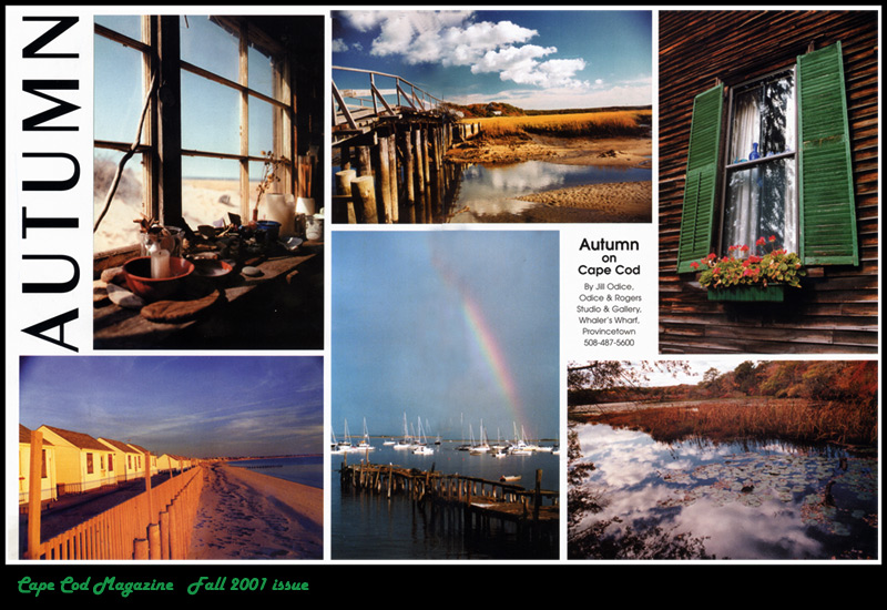 Cape Cod Magazine <br /> Fall 2001 Issue