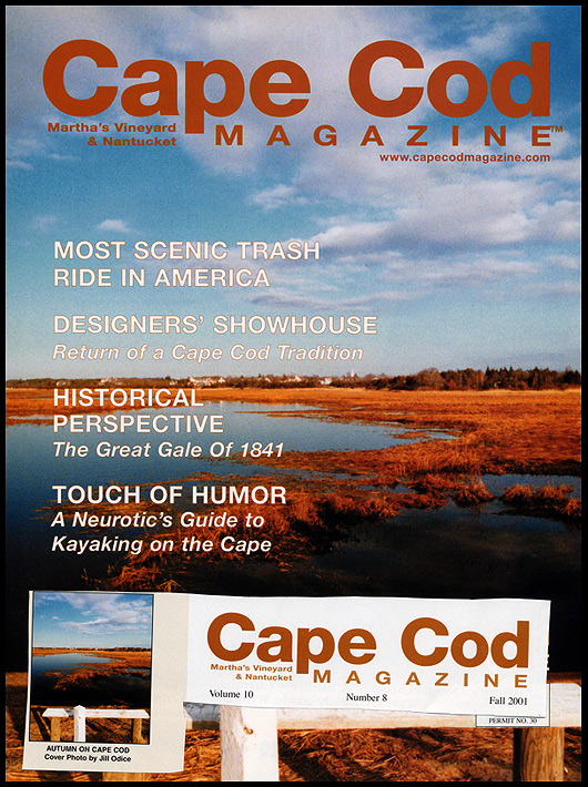 My First Cover<br /> Cape Cod Magazine Fall 2001