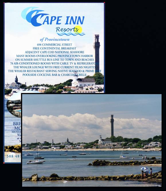 Cape Inn Advertisement