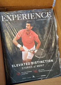 2020 Cover - Novak Djokovic