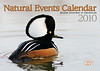 Hooded Merganser on Cover of 2010 Missouri Natural Events Calendar