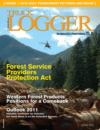 As seen on the cover of Truck Logger