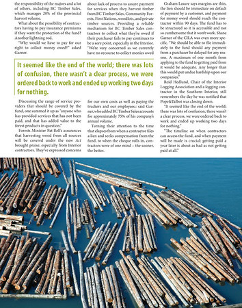 As seen in Truck Logger Magazine